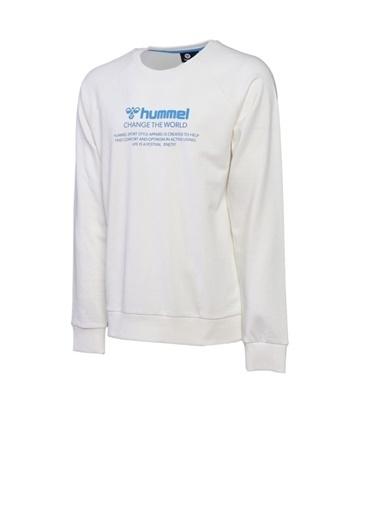 Hummel Numas Sweatshırt Beyaz